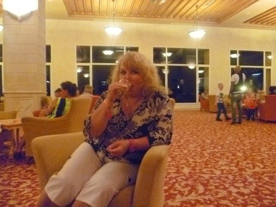 Nour Palace Resort : Я в лобби баре