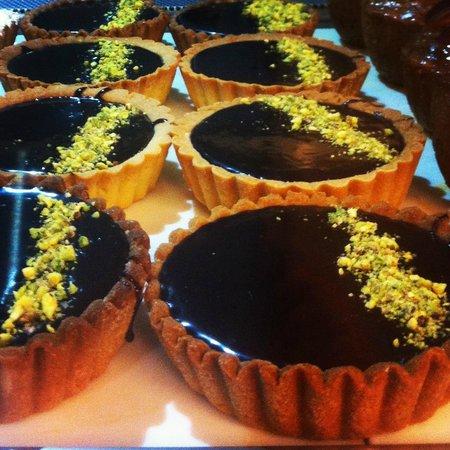 Jean Louis Joseph : Chocolate ganache tarts
