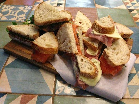 Jean Louis Joseph : Deli picnic sandwiches