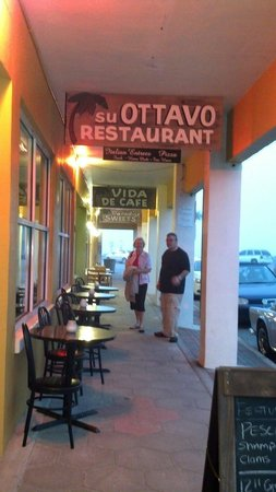 Restaurant Su Ottavo: Just before a thunderstorm