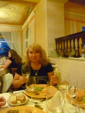 Nour Palace Resort: Я в ресторане тунисской кухни.