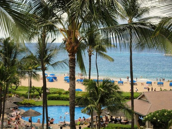Sheraton Maui Resort & Spa : Pool and Beach PIc