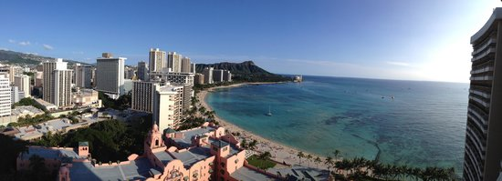Sheraton Waikiki: View from level 25