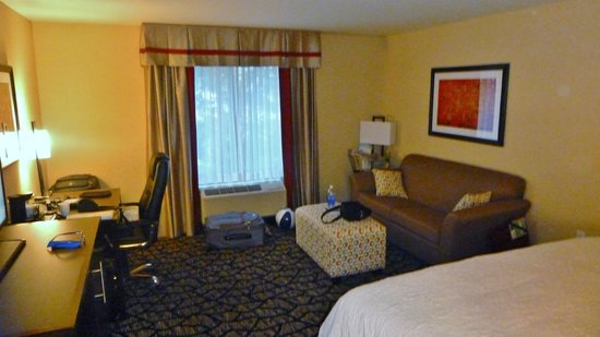 Hampton Inn By Hilton Chilliwack: The sofa bed.