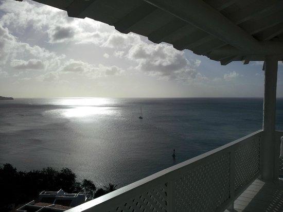 Windjammer Landing Villa Beach Resort: view from balcony