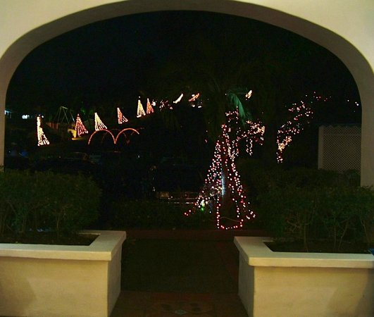 Windjammer Landing Villa Beach Resort: view from reception