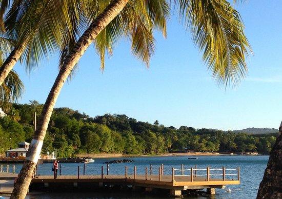 Windjammer Landing Villa Beach Resort: jetty