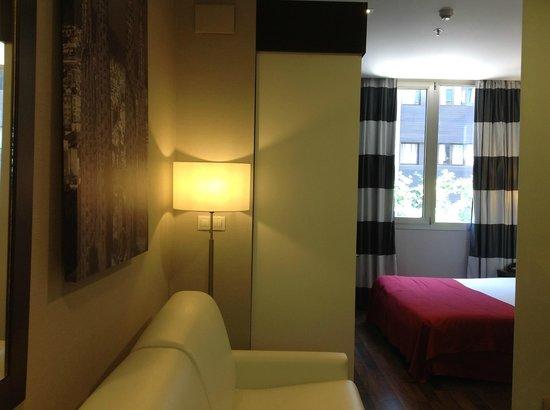 Hotel & Spa Villa Olimpica Suites: Номер сьют