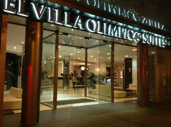 Hotel & Spa Villa Olimpica Suites : Экстерьер отеля
