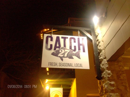 Catch 27: Restaurant sigh