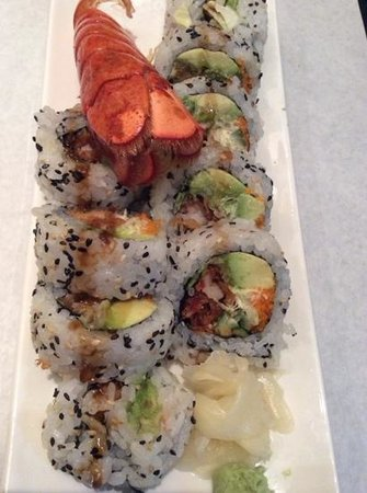 Shinobu : Lobster Tail Roll