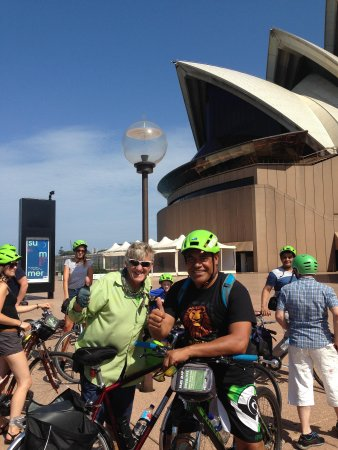 Bike Buffs - Sydney Bicycle Tours: We rode around the Sydney Opera House and also the Harbour Bridge