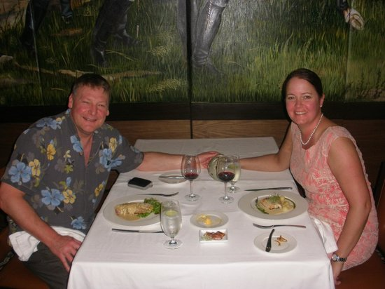 Secrets Vallarta Bay Resort & Spa: Dinner at Bordeaux