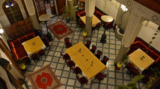 Riad Dar Dmana: Where our meals were served.