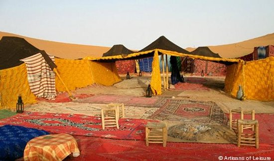 Bivouac Radoin Sahara Expeditions: Radoin Camp
