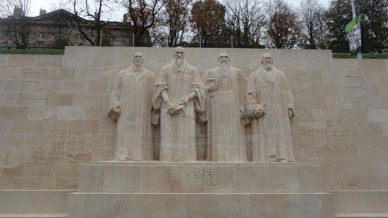 Reformation Wall (Mur de la Reformation) : Monumento da Reforma