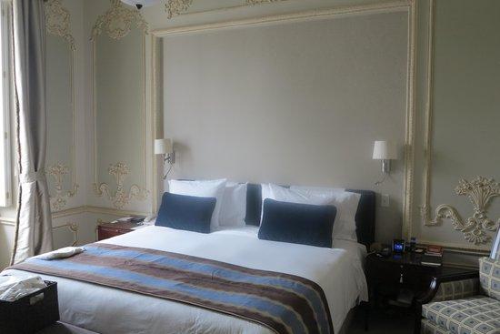 Casa Gangotena : Our bedroom