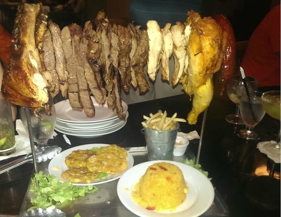 Vaca Brava : Number 10 Entree enough for 4-6 people