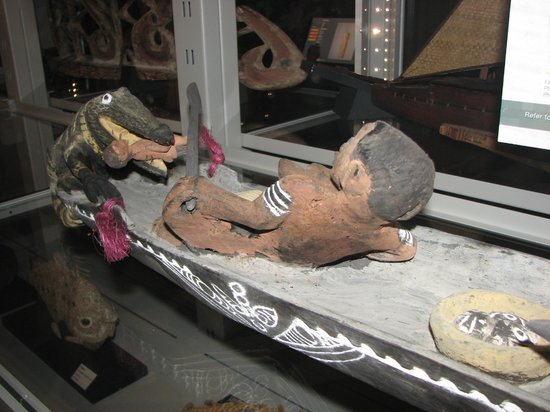 Museum of Anthropology : Bad day on the boat