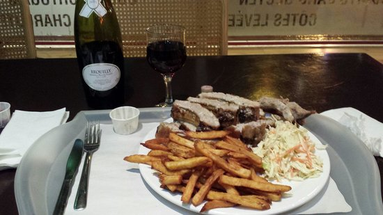 Poulet portugais: Tasty ribs !