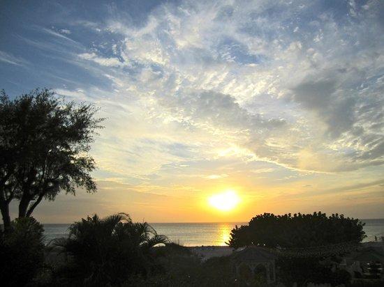 Harrington House Beachfront Bed & Breakfast: Sunset on Anna Maria Island