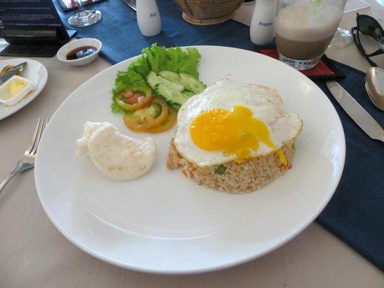 Sala Bai Restaurant School: Chicken fried rice.