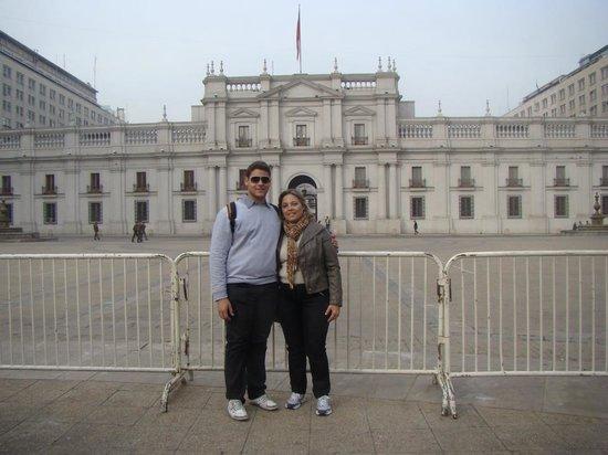 Centro Cultural Palacio de la Moneda y Plaza de la Ciudadania: Arte, cultura e história. Ambiente de muita evocação histórica, com preservação da cultura e cid