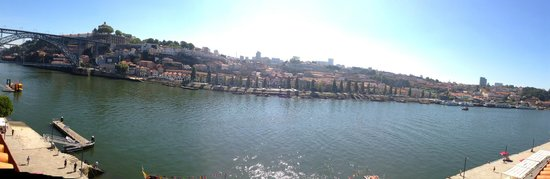 Pestana Vintage Porto : Panoramic view from the 6th floor