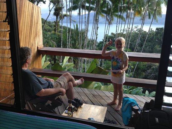 Villa Decary : Balcony birding