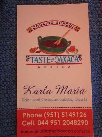 Oaxaca Ollin: Karla Maria Marquez's cooking class is a must!