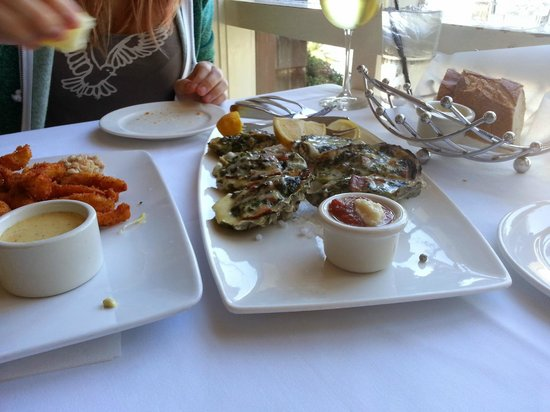 Crab Catcher: Oven Roasted Oysters
