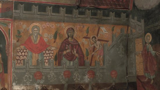 The Church of the Panagia : Pretty paintings