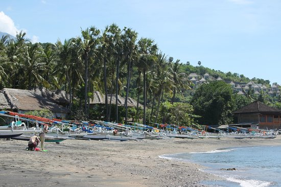 Anda Amed Resort: Amed beach(maybe Lipah?)