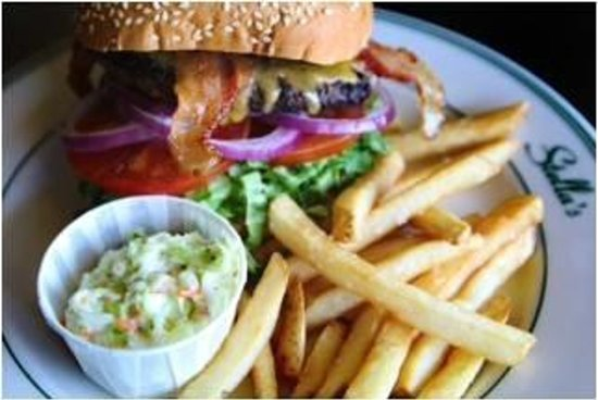 Awesome burgers picture of stella 39 s fish cafe for Stellas fish cafe