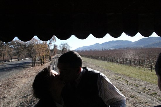 Napa Valley Wine Train: Napa Wine Train Romance 2013