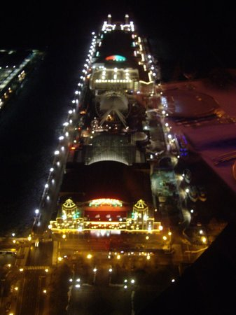 Looking down on Navy Pier from Cite.