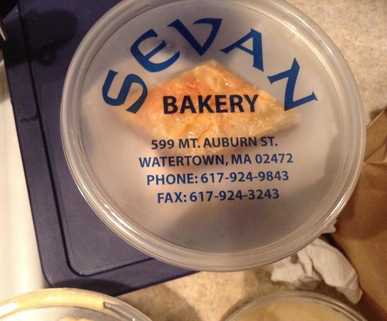 Sevan's Bakery: take out from sevan