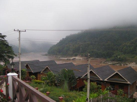 Phetsokxai Hotel Pakbeng: Morning over the Mekong River