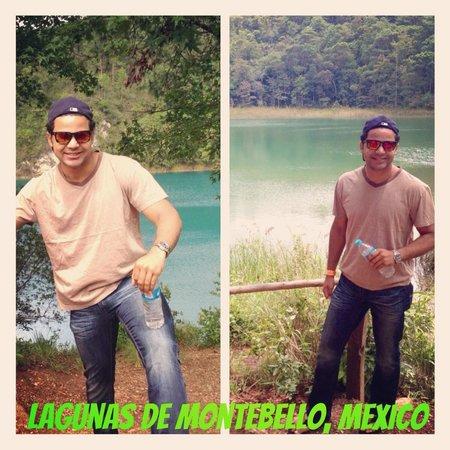 Parque Nacional Lagunas de Montebello: collage