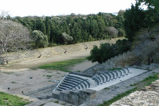 The Acropolis of Rhodes: Stadium and Theatre
