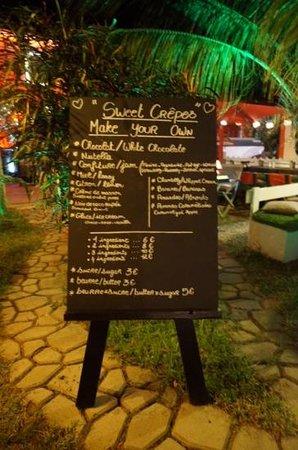El Cafecito: sweet crepes