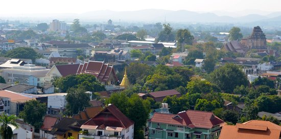 Amora Resort Tapae Chiangmai : Great view from 12th floor