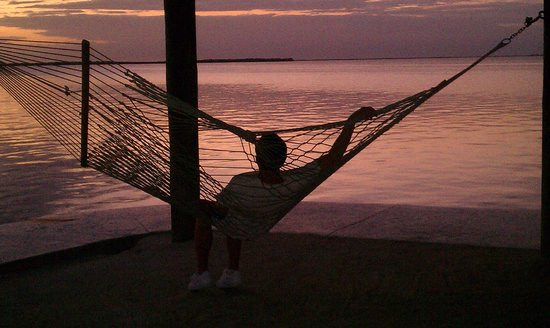 Key Largo Bay Marriott Beach Resort : son enjoying sunset