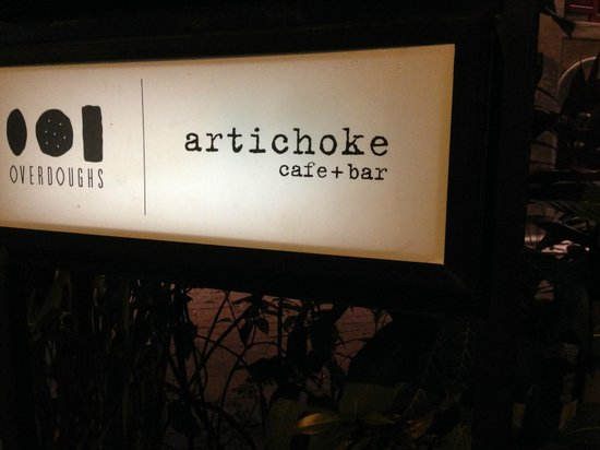 Artichoke: The sign.