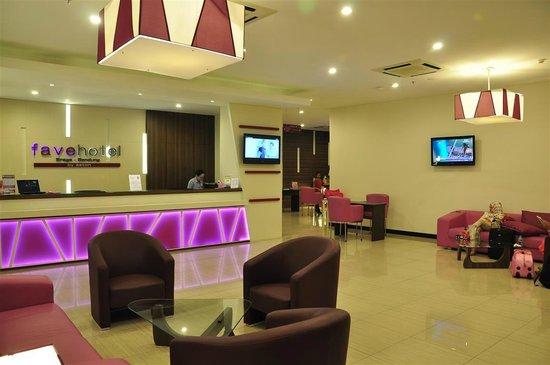 interior of Favehotel Braga