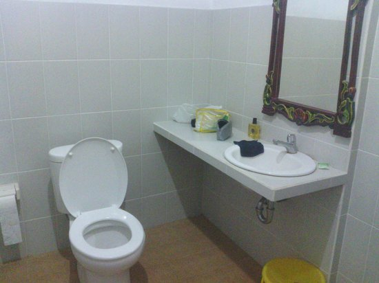 Karangsari Guest House: nog stukje badkamer