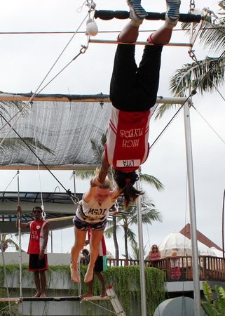 High Flyers Bali Trapeze School: Family Fun #5