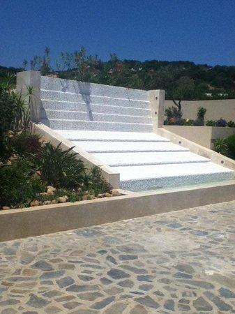 Chia Laguna - Hotel Village: Water fountain