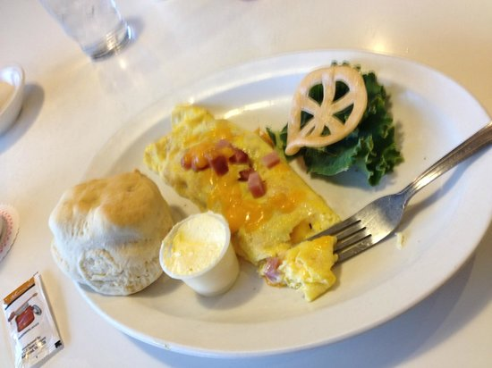 Apple Peddler: senior breakfast omelet