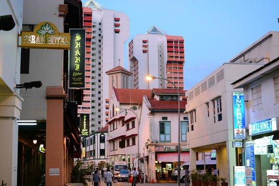 Perak Hotel : Округа